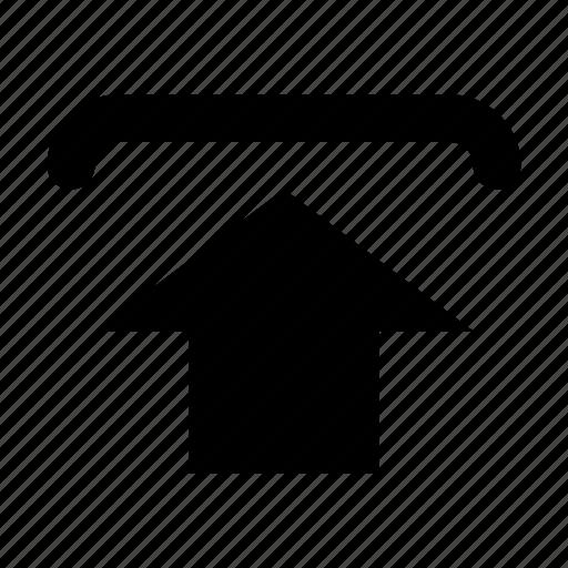 Post, send, upload, arrow, send file icon - Download on Iconfinder