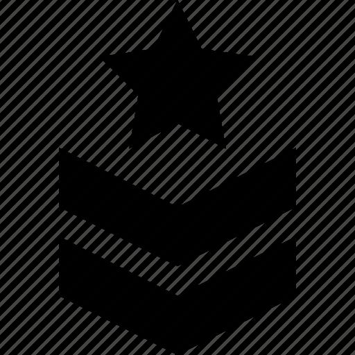 army, badge, emblem, insignia, militar, rank, shoulder strap icon