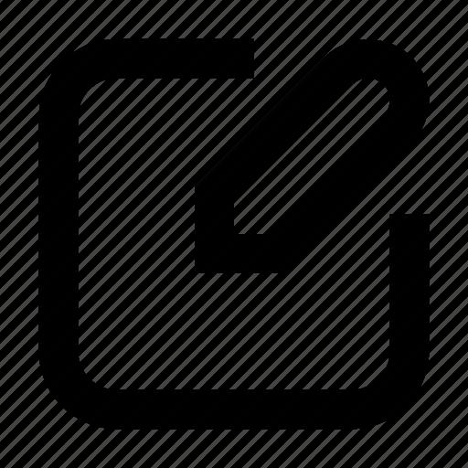 compose, edit, new, pencil, write icon