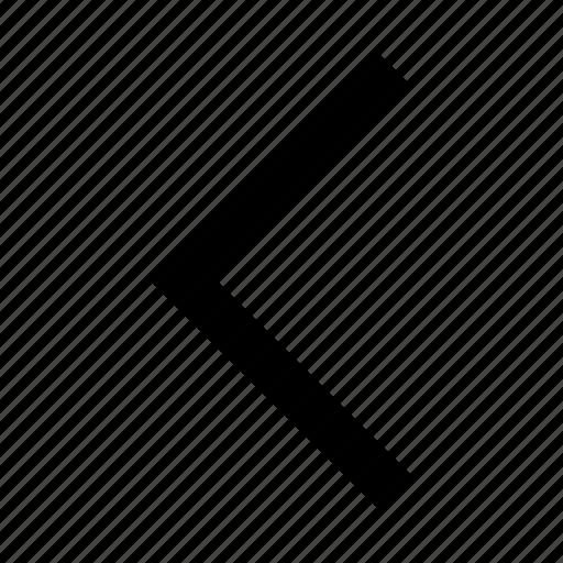 arrow, back, left, otline, right icon