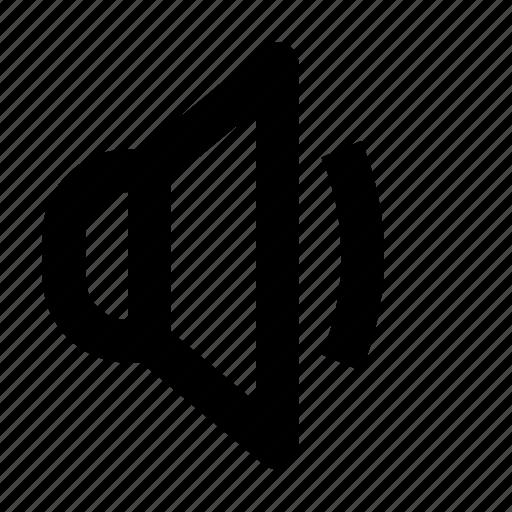 audio, basic, loud, music, sound, speaker, volume icon