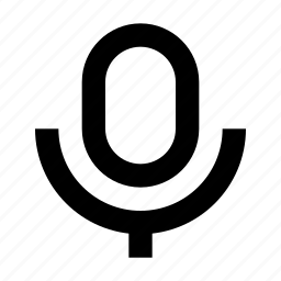mic, microphone, multimedia, off, on, player, podcast, radio, recording, sound, speak, station, video, volume icon