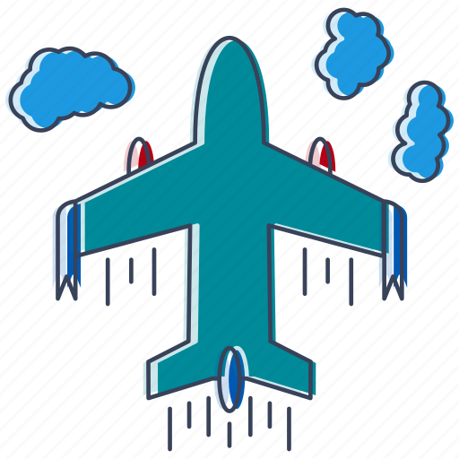 appliance, city, country, device, location, place, plane icon