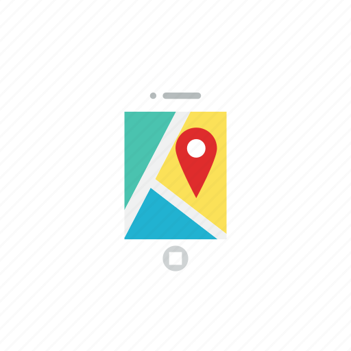 application, location, map icon
