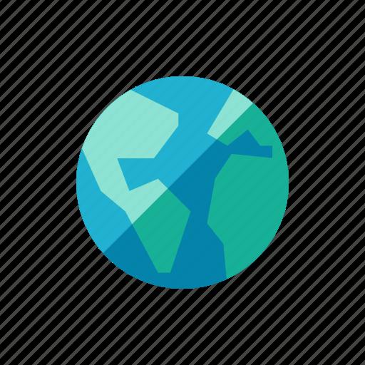 eart, globe, world icon