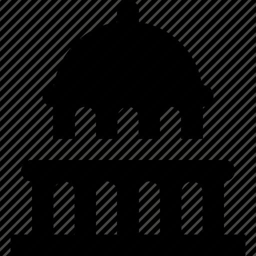 building, capitol icon