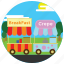 breakfast, crepe, food, locations, park, places, stands icon