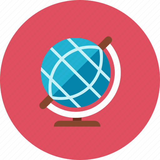 education, globe icon