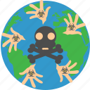 armagedon, death, nuclear, world end icon