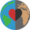 planet, solidarity, support, tolerance icon