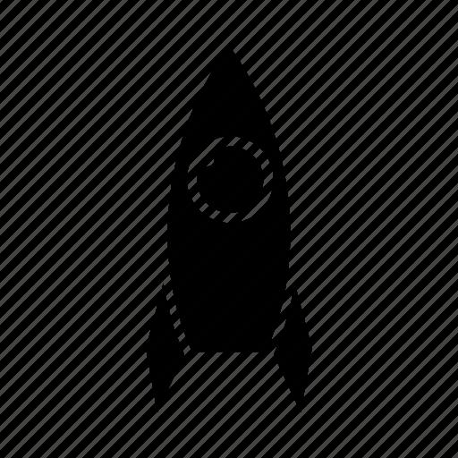 rocket, space icon