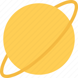 global, planet, saturn, space icon