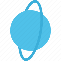 global, planet, space, uranus icon