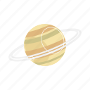 planet, saturn icon