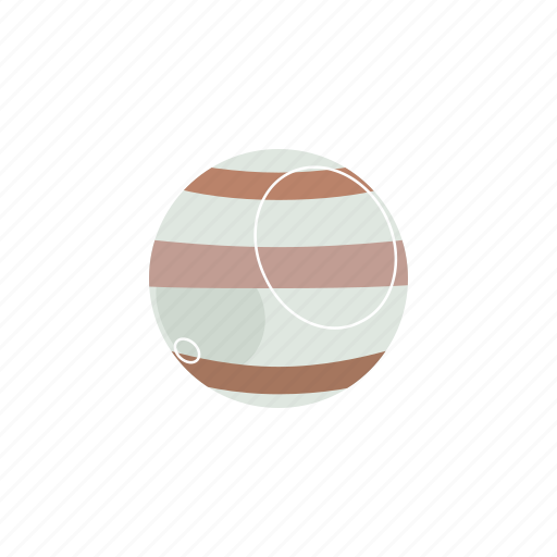 jupiter, planet icon