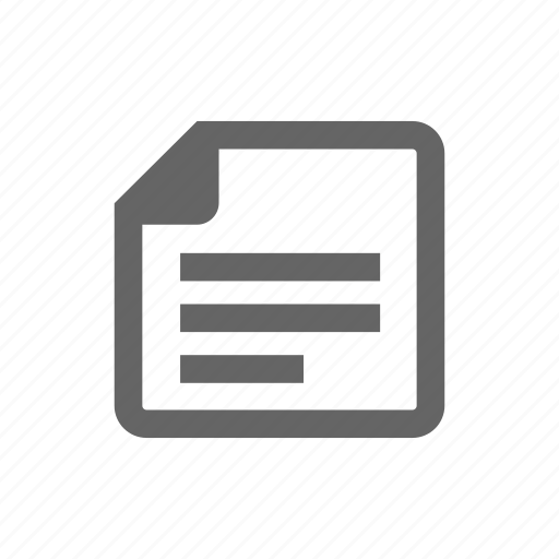document, documents, file, label, page, paper icon