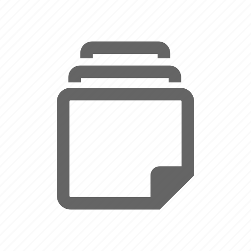 documents, files, paper, papers, storage icon
