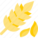 garden, plant, seed, wheat icon