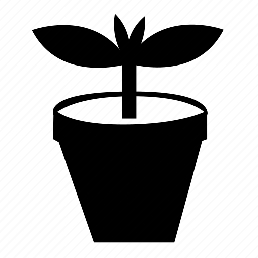 nature, plant, potted plant icon