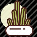 cactus, candelabra, decor, green, nature icon