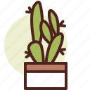 cactus, decor, fig, green, indian, nature icon