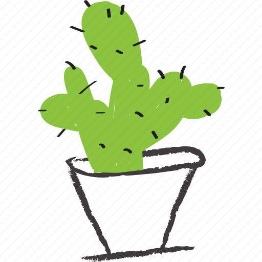 cacti, cactus, decorative, nature, planter icon