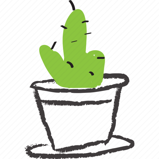 apartment plant, cacti, cactus, decorative, plant, planter, thorns icon