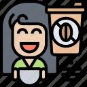 no, disposable, coffee, cup, cappuccino