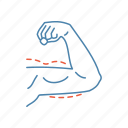 arm, arm lift, biceps, brachioplasty, implant, plastic surgery, reshaping icon