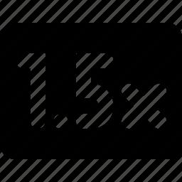 1, speed icon