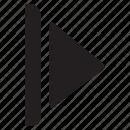 next, next asset, next video icon