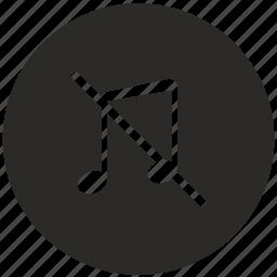 no, play, playback, sound, volume icon
