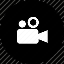 films, movies, video camera, videos icon