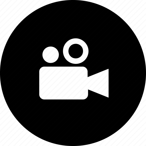 films, movies, video camera, videos icon