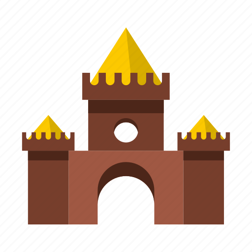 amusement, castle, circus, fantasy, fun, outdoor, park icon