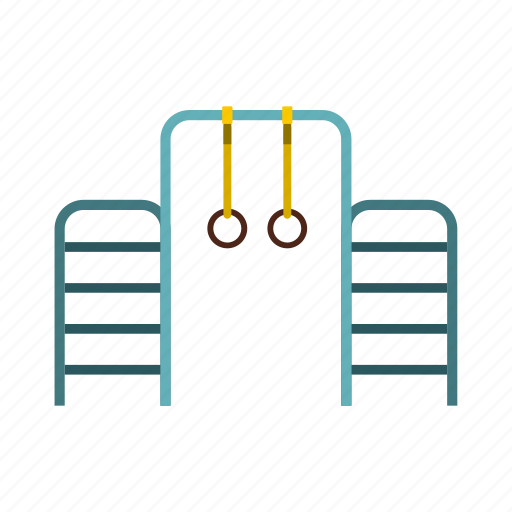 bar, climb, ladder, muscle, ring, strength, young icon