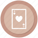 casino, gambling, game, poker icon