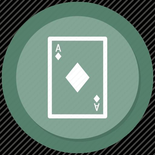cards, diamond, playing, poker icon