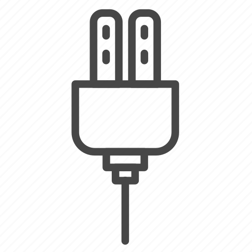 cable, electrical, electricity, plug, slot icon