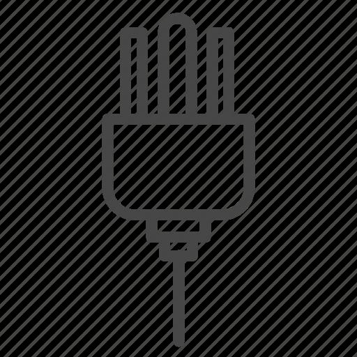 electrical, electricity, plug, plug type b, slot icon
