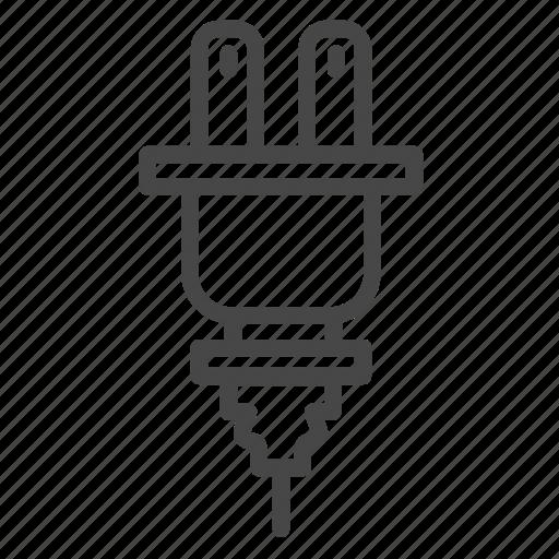 attachment plug, electrical, electricity, plug, slot icon