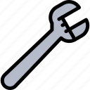 mechanical, plumber, plumbing, system, wrench icon