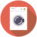 appliance, equipment, household, plumbing, washer, washing machine icon