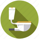 appliance, bathroom, plumbing, sanitary facilities, toilet, water closet icon