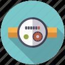 appliance, dial, pipe, plumbing, water meter