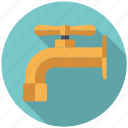 appliance, facilities, faucet, plumbing, sanitary, tap, water icon