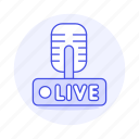 1, audio, broadcast, live, microphone, news, podcast, radio, station, streaming, transmission icon