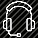 audio, headphone, mic, microphone, podcast, recording, sound icon