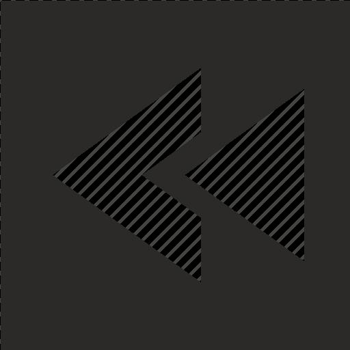 arrow, left, move, pointer icon