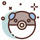 cartoon, character, pokemon, rat icon